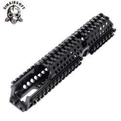 AK 47 táctico Quad Rail Picatinny SISTEMA DE guardamanos CNC de aluminio de longitud completa táctico para AK AEG/GBB rifle B30 B31