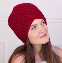 Neue winter stricken wolle Turban Kopf Wrap Band twist stirnband Hut Mode Boho Weiches Haar Zubehör Turban Einfarbig Muslimischen hut