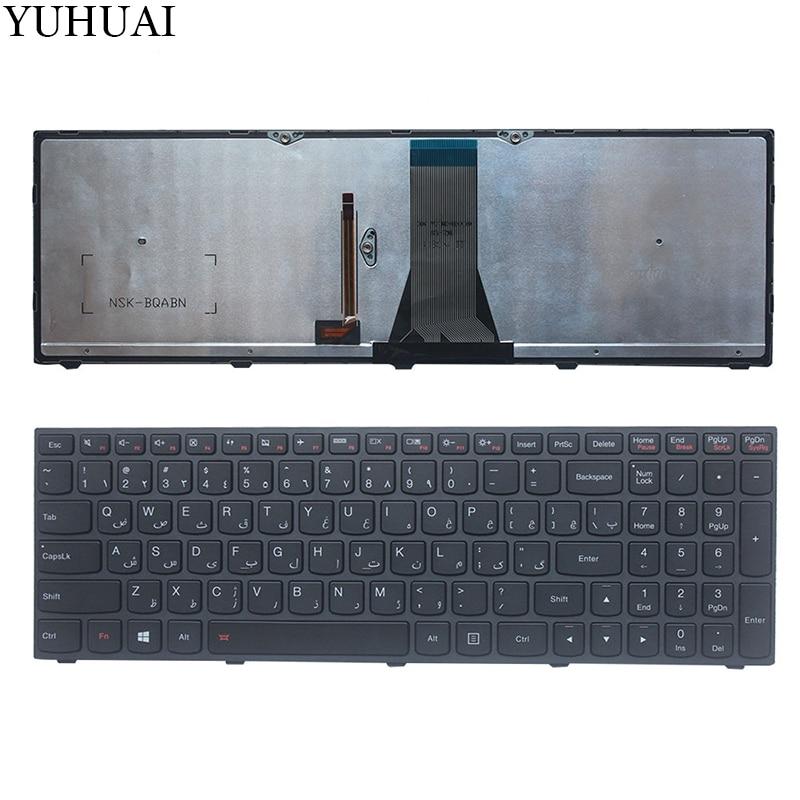 Arabic/AR Laptop Keyboard for Lenovo G50 Z50 B50-50 B50-30 G50-70A G50-70H G50-30 G50-45 G50-70 G50-70m Z70-80 with Backlight