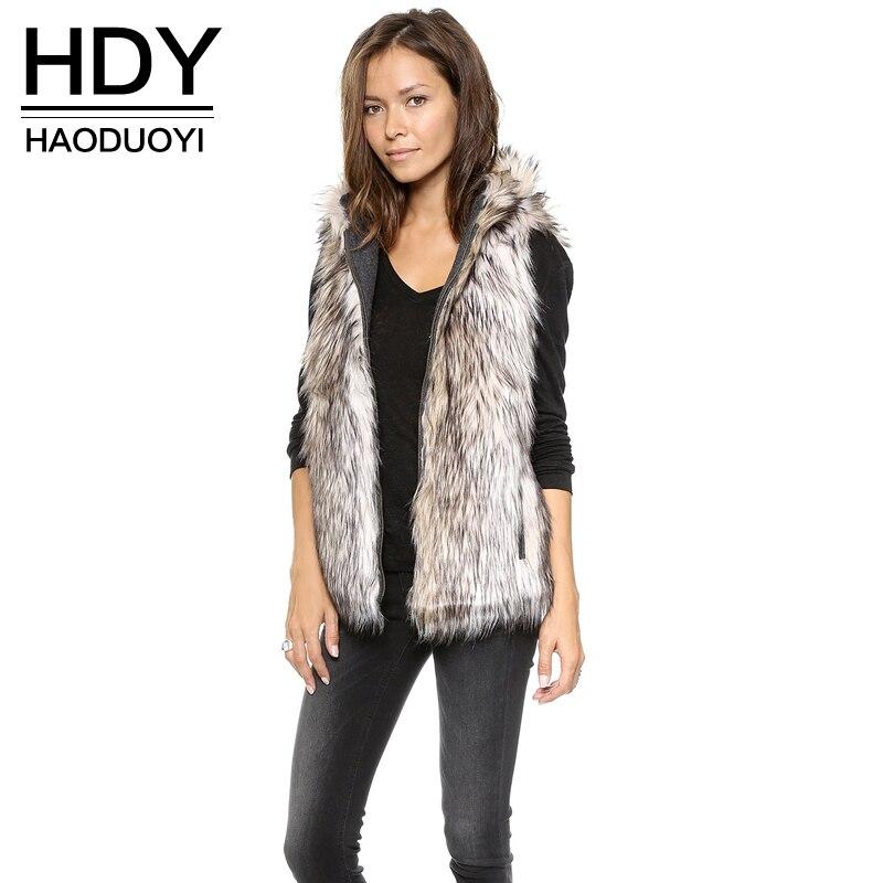 HDY Haoduoyi модные серые Куртки Пальто для будущих мам Для женщин без рукавов с v-образным вырезом на молнии Для женщин пальто из искусственного ...