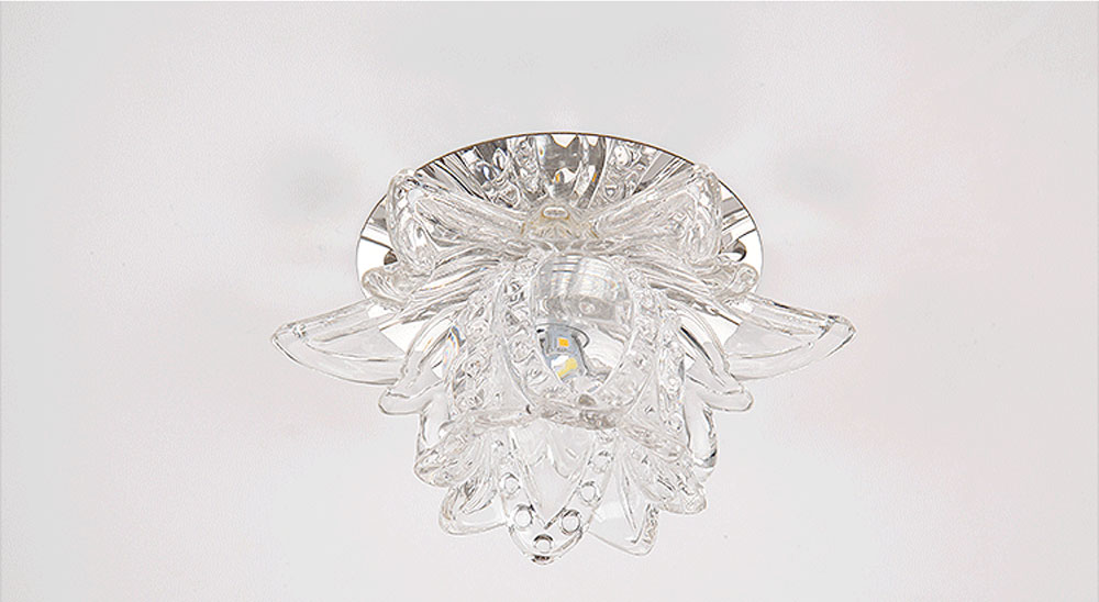 HTB1LC4OcVyZBuNjt jJq6zDlXXag Crystal Wall Lights | Crystal Ceiling Lights | Colourful Led Lotus Crystal Ceiling Chandelier Light Spot Light for Corridors Balconies Hallways Creative Plafonnier Luminaire 001
