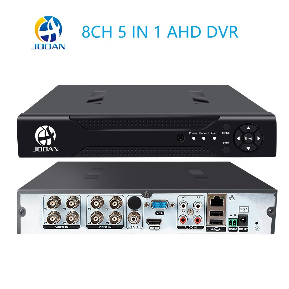 CCTV 8CH DVR H.264 AHD DVR NVR 8ch Digital Video Recorder for CCTV 1080 960 Cams HDMI Video Output Support Analog AHD IP Camera цена