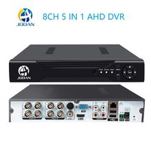 CCTV 8CH DVR H.264 AHD DVR NVR 8ch Digital Video Recorder for CCTV 1080 960 Cams HDMI Video Output Support Analog AHD IP Camera(China)