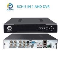 CCTV 8CH DVR H.264 AHD DVR NVR 8ch Digital Video Recorder for CCTV 1080 960 Cams HDMI Video Output Support Analog AHD IP Camera