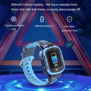 Image 5 - GPS Smart Uhr Kinder Kamera IP67 Wasserdichte Wifi Tracker Telefon Smartwatch Kinder SOS Monitor Positionierung Uhr 500mAh Batterie