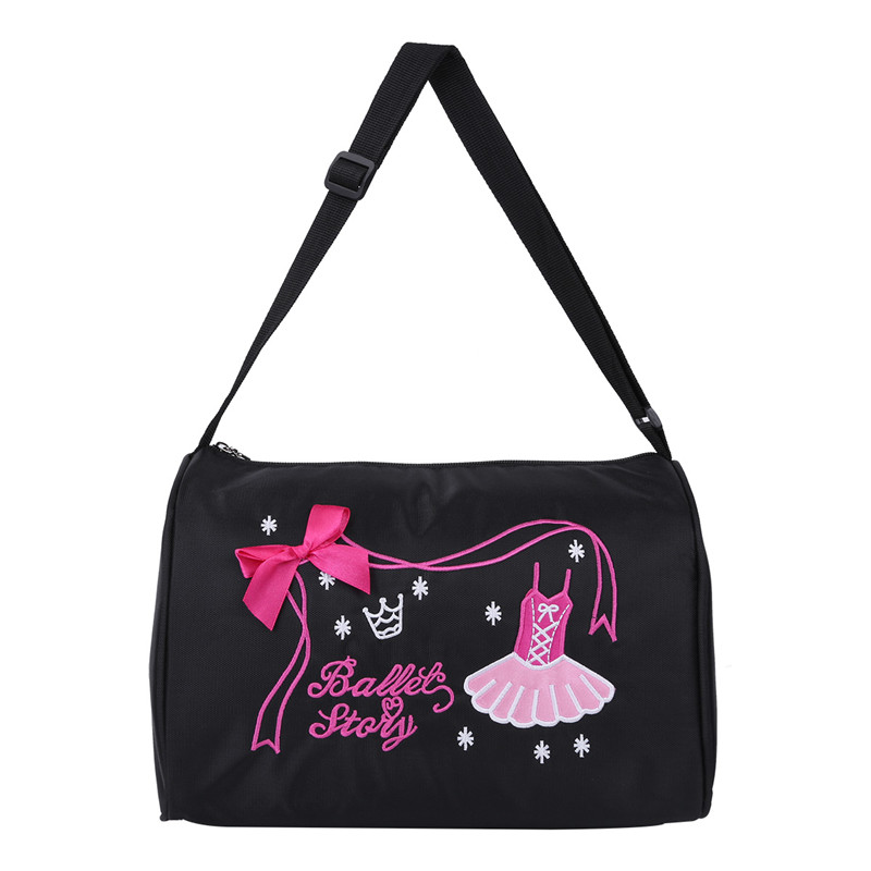 Fashion Kids Ballet Bags Gym Embroidery Backpack Little Girls Dance Bags Ballerinas Lace Shoulder Bag Ballet School Hand Bags