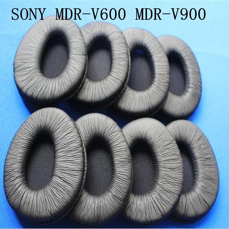 Linhuipad 10pcs 5pair Soft leatherette ear cushion earpads fit on Sony MDR-V600 MDR-V900 headphones