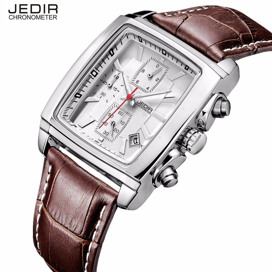 Betere Luxe Top Merk JEDIR Vierkante Horloges Mannen Rechthoek Sport CD-19