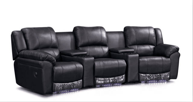 US $980.0 |Living room sofa modern sofa set recliner sofa with Genuine  leather recliner leather sofa set-in Living Room Sofas from Furniture on ...
