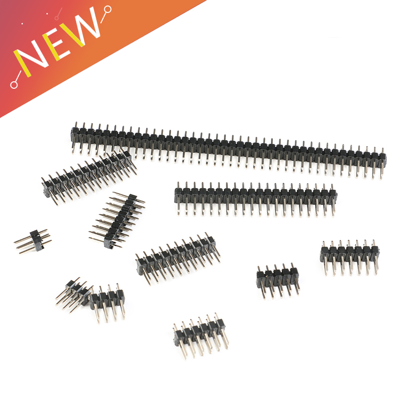 10pcs 2.54mm Double Row Male PCB Board Pin Header Connector Strip Pin header 2 * 2/3/4/6/8/10/12/15/20/40P For Arduino10pcs 2.54mm Double Row Male PCB Board Pin Header Connector Strip Pin header 2 * 2/3/4/6/8/10/12/15/20/40P For Arduino