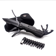 Pliers Multitool Folding Pocket EDC Camping Outdoor Survival hunting Screwdriver Kit Bits Knife Bottle Opener Hand Tools