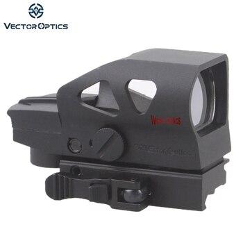 Sehenswürdigkeiten Für Ar15 | Vector Optics Ratchet 1x23x34 Rot Grün Dot Umfang 4 Absehen Anblick Mit QD Picatinny Halterung Für AK 5,56mm AR15. 223 12 GA