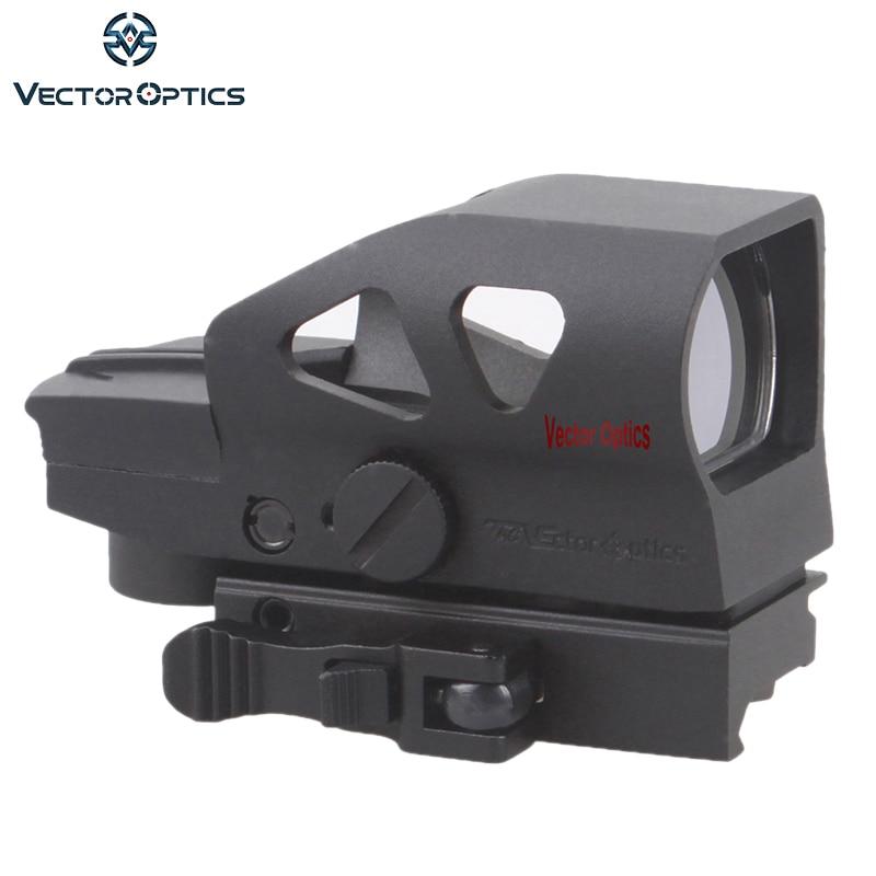Vector Optics Ratchet 1x23x34 Rouge Vert Dot Portée 4 Réticule Sight avec QD Picatinny Montage pour AK 5.56mm AR15. 223 12 GA