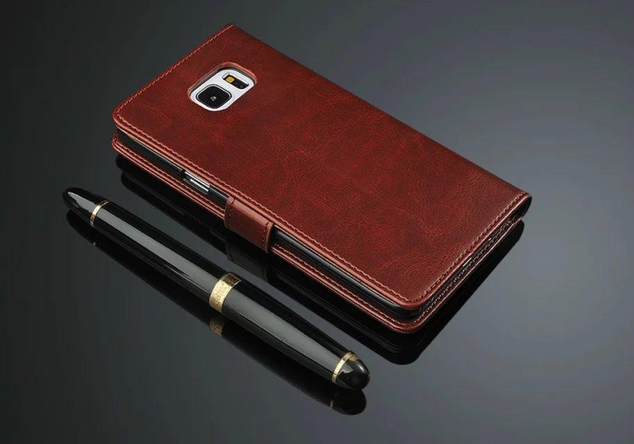 Azns Note5 շքեղ դրամապանակի պատյան Samsung - Բջջային հեռախոսի պարագաներ և պահեստամասեր - Լուսանկար 3