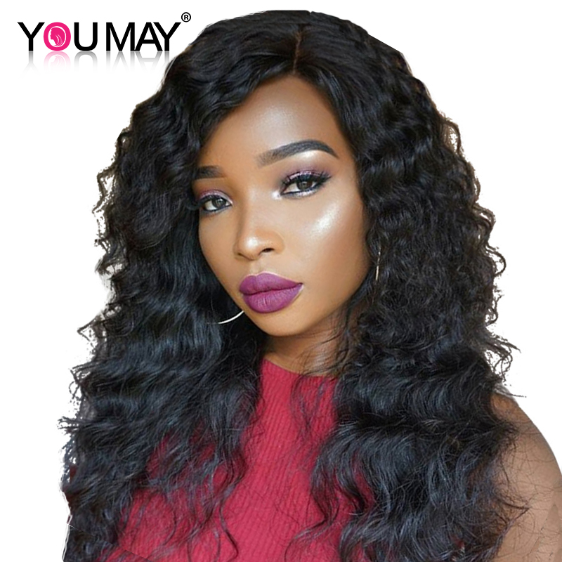 Clip In Human Hair Extensions Loose Wave Brazilian Remy Hair Clip Ins 120g/Set 7pcs You  ...