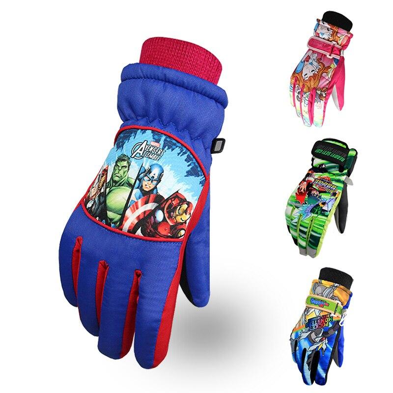 Winjfo 5 14 Years Old Children Winter Gloves For Kids Ski -1358