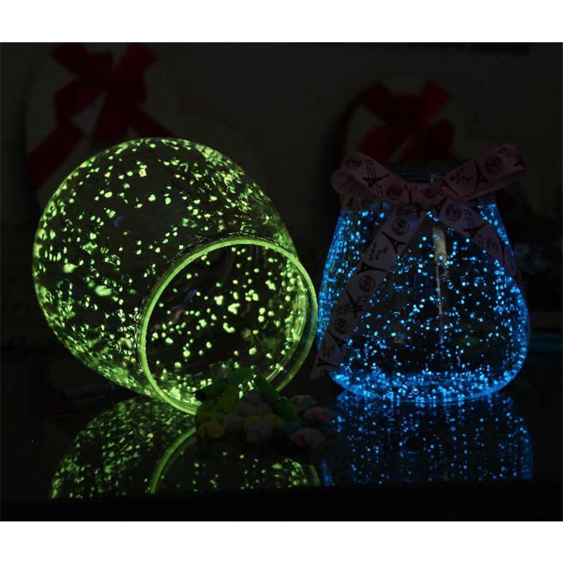 Pietra luminosa Che Desiderano bottiglia FAI DA TE Per Bambini giocattolo Glow in The dark Regali per i bambini 10g di un pezzo Brinquedos Spielzeug illuminazione Regalo