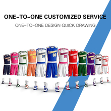 Custom personalized sublimation sports basketball shorts jersey new design jerseys mens youth Training Suit