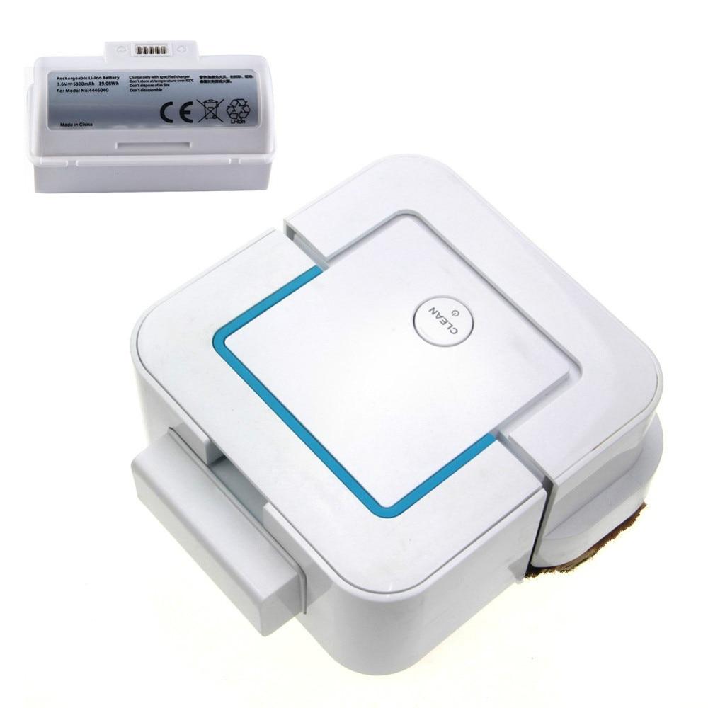 High Quality 5300mAh Li-Ion Replacement Battery For IRobot Braava Jet 240 Model 4446040 USB Charging