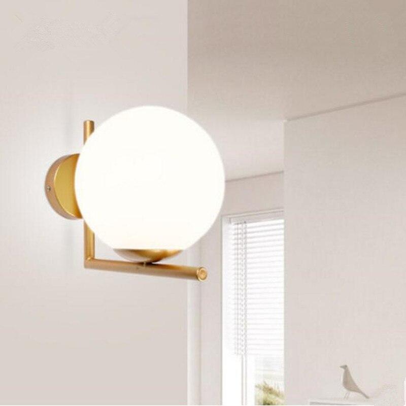 Aliexpress.com : Buy ART DECO wall lamp glass ball lights iron ...