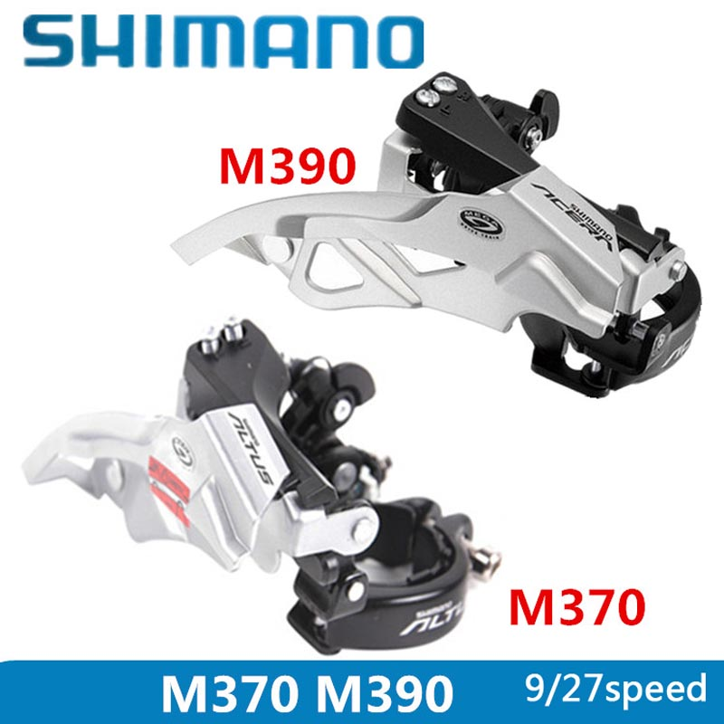 Bicycle Derailleur Inventive Shimano Alivio Acera Fd-m390 Front Derailleurs Mtb Bike Mountain Bicycle Parts For 3x9s 27s Speed Transmission Free Shipping Pleasant In After-Taste