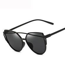 New Cat Eye Sunglasses Women Brand Designer Fashion Cateye Sun Glasses For Female UV400 Eyewear