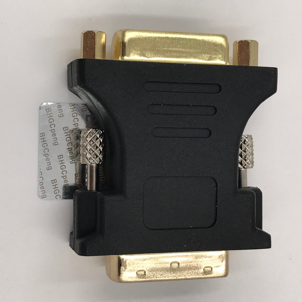 DVI to DVI adapter 24+1 Male to 24+5 Female Converter Gold Plated M-F Connector High Quality DVI-D to DVI-I Joiner good sale dvi i 24 5 pins male to 2 dual vga female monitor adapter splitter cable high quality