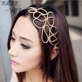 2016 New Fashion Alloy Headbands For Women Elastic Hair Accessories Head Chain Jewelry