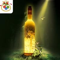 Led Novelties 2018 Wine Bottle LED Novelty Lighting Music Atmosphere Chrismas Lights for Appointment Holiday