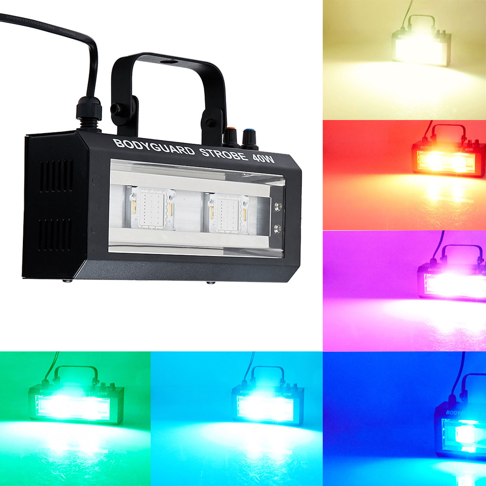 MINI DMX Controlado por voz 40W Party Disco DJ Light Music Show - Iluminación comercial