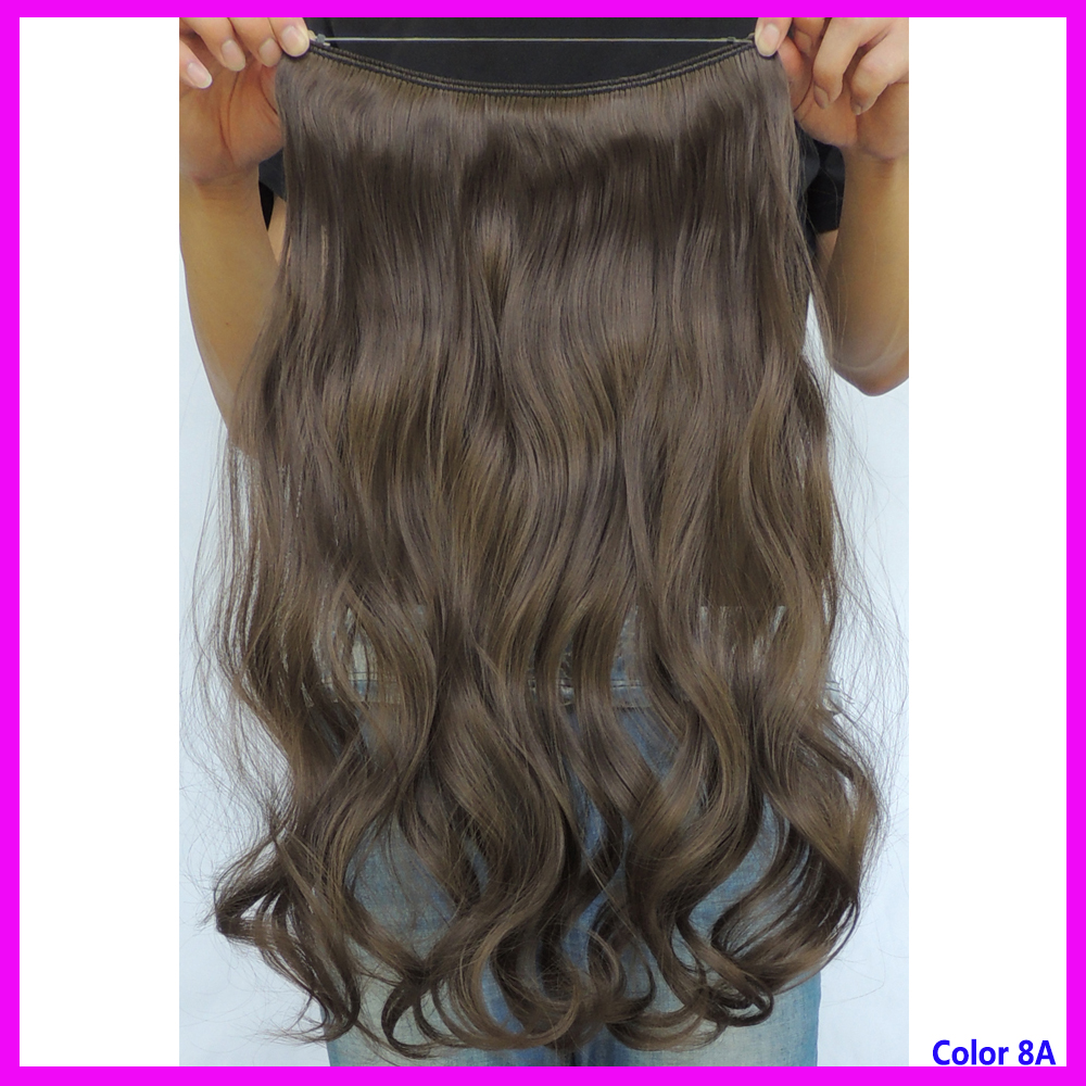 Halo Hair Extension Flip In Haar Extensions Pieces Rust Brown