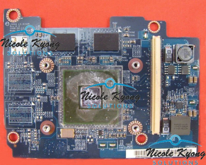 JSKAA LS-4162P G98-700-U2 9300M K000062610 G96-630-A1 9600M K000070850 VGA Video Card For TOSHIBA Qosmio F50 G50 F501 F55