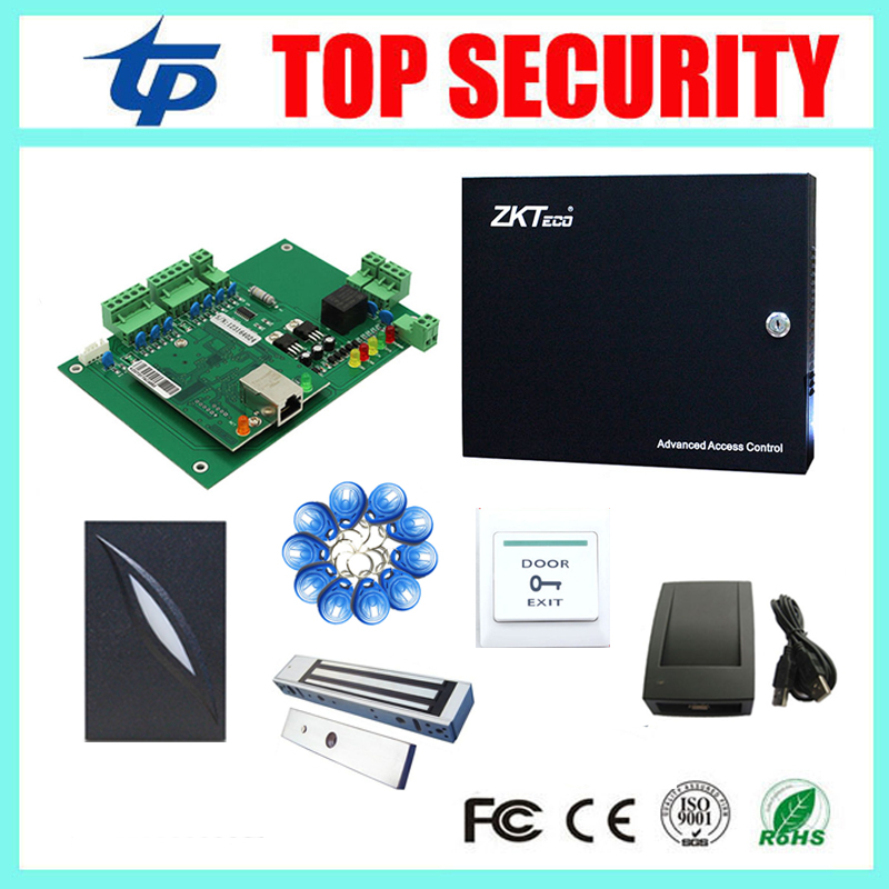 Free shipping DHL One door access control system L01 TCP/IP card access control panel door enter and exit control