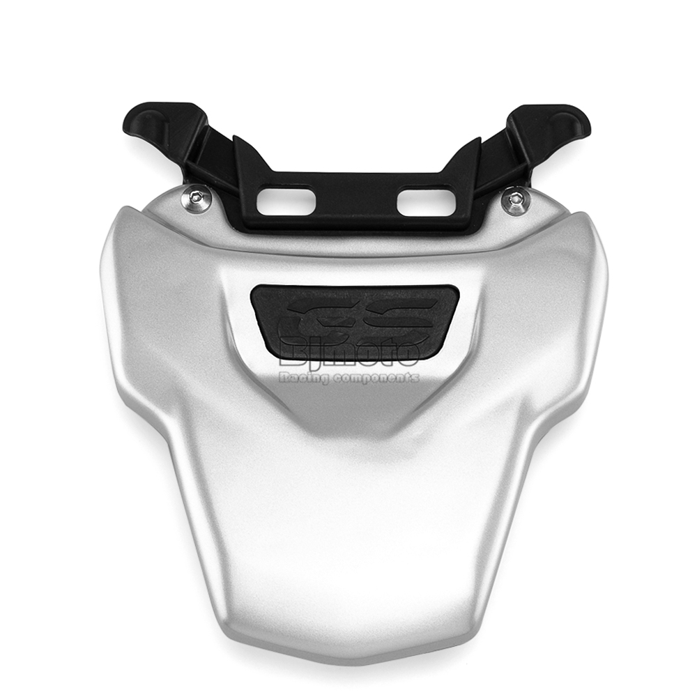 Motorcycle Black Flat Brat Style Tracker Cafe Racer Seat For BMW R1200GS R 1200 GS ADV (3)