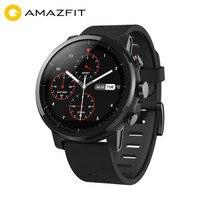 Xiaomi Huami Amazfit Stratos 2 Смарт часы для мужчин с gps часы PPG монитор сердечного ритма 5ATM водонепроницаемый