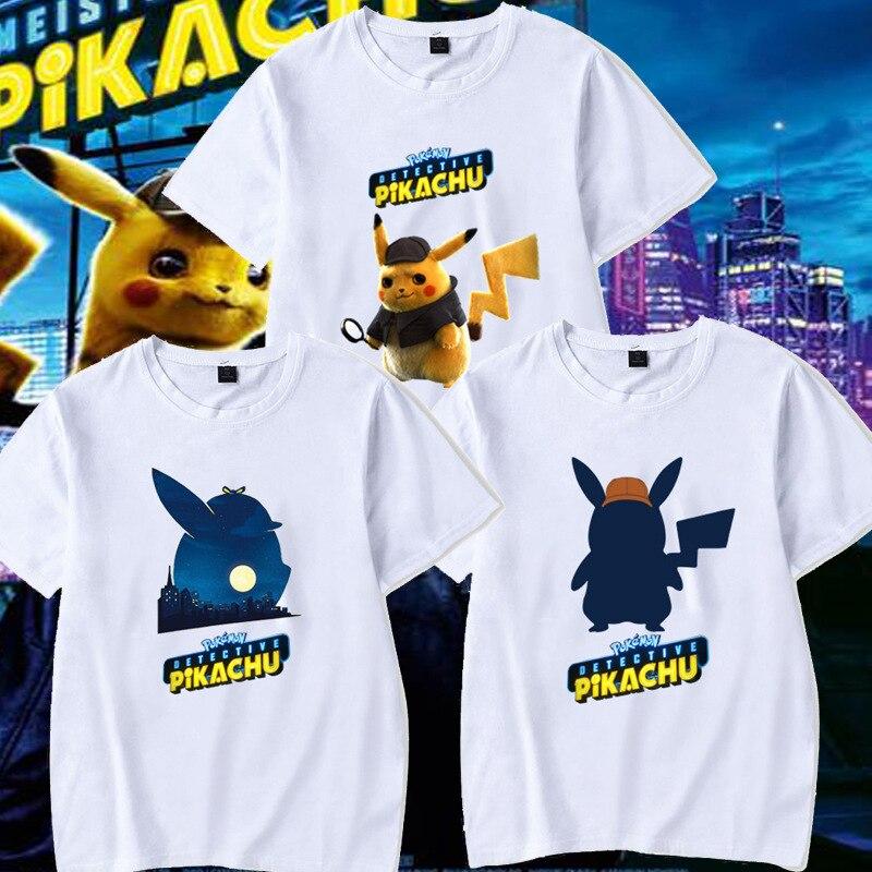 font-b-pokemon-b-font-detective-pikachu-short-sleeved-t-shirt-lovers-cartoon-anime-loose-clothes-white-printed-hip-hop-t-shirt