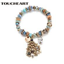 Toucheart новейший дизайн стеклянные бусины ручной работы европейский
