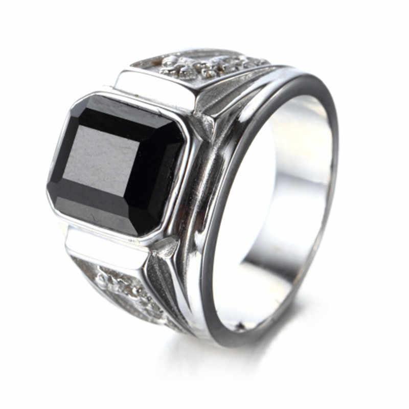 น้ำหนัก Mens Signet แหวนทองแหวนแกะสลัก Dragon Vintage แฟชั่นงานแต่งงาน Band เครื่องประดับแหวน