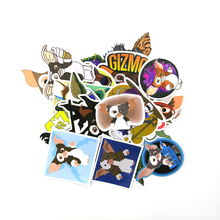 Gremlins Gizmo 22pcs cartoon funny decals scrapbooking diy stickers home decoration phone laptop waterproof accessories