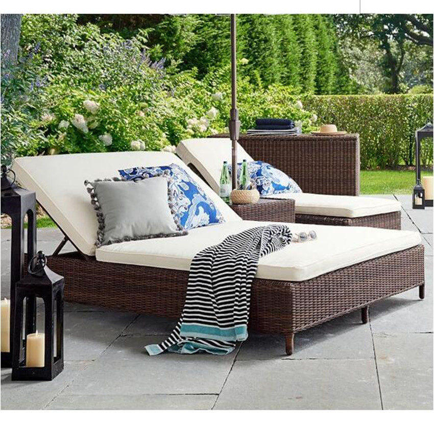 new arrival patio garden wicker outdoor day beds furniture