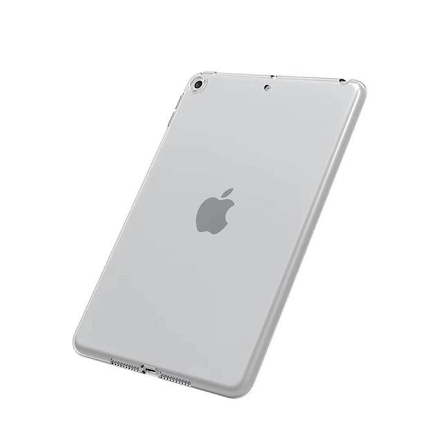 Funda para iPad 10,2 2019 MiNi 2 3 4 5 TPU funda transparente a prueba de golpes para nuevo iPad 2017 2018 Pro 10,5 Air 1 2 funda trasera