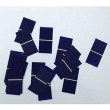 Carregador de Bateria 100 PCS Painel Solar Sunpower Célula Fotovoltaico Policristalino DIY 0.5 V 0.225 W 52*26mm