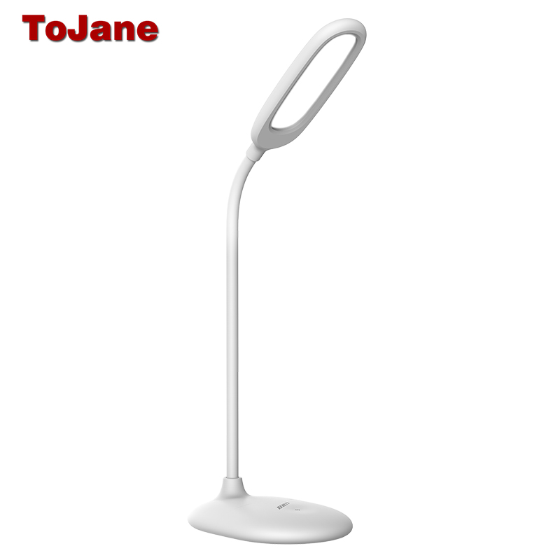 Us 40 35 Tojane Rechargeable Led Desk Lamp Reading Home Office Table Usb Light Tg108 In Lamps From Lights