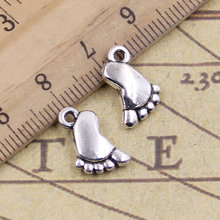 NEWME 25pcs om Charms Pendant For DIY Jewelry Wholesale Crafting Bracelet and Necklace Making antique bronze