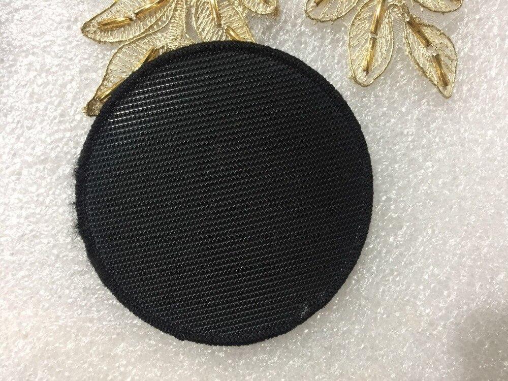 Parche tejido personalizado forma redonda logotipo personalizado parches tejidos gancho y lazo estilo ropa insignias accesorios de costura-in Parches from Hogar y Mascotas    3