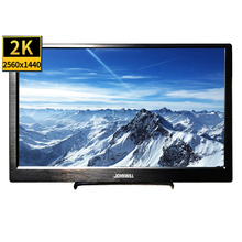 JOHNWILL 13.3 inch portable monitor Full HD 2560 x 1440 IPS Screen ultra thin monitor black metal shell,two HDMI interface