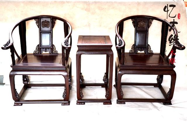 Chinese style mahogany furniture, solid wood chair armchair ebony antique  mahogany chair palace chair - Chinese Style Mahogany Furniture, Solid Wood Chair Armchair Ebony