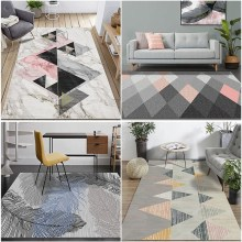 Delicate Carpets For Living Room Bedroom Rugs Nordic Style Polypropylene Home Carpet Soft Thickness Are Rug Floor Door Mat