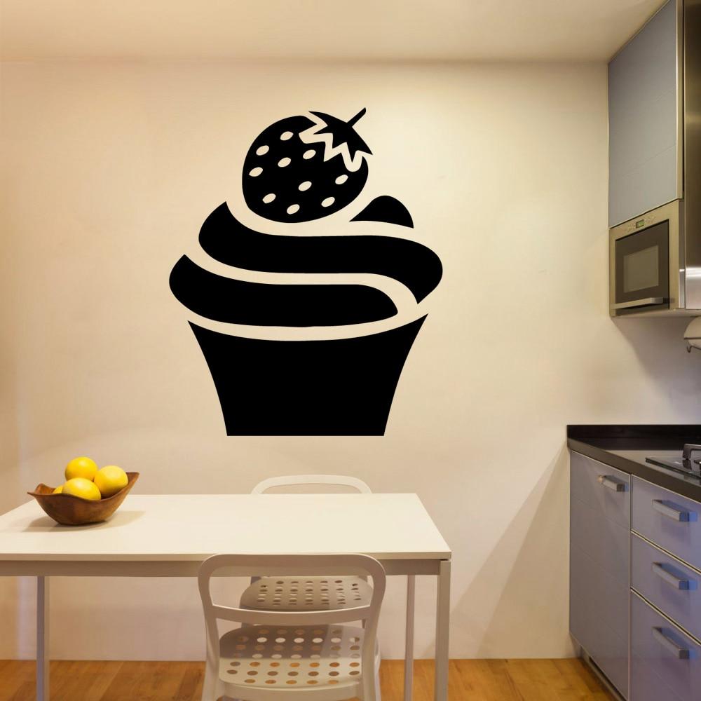 Modern ice cream Wall Art Decal Wall Sticker Mural vinyl Stickers Art Decals in Wall Stickers from Home Garden