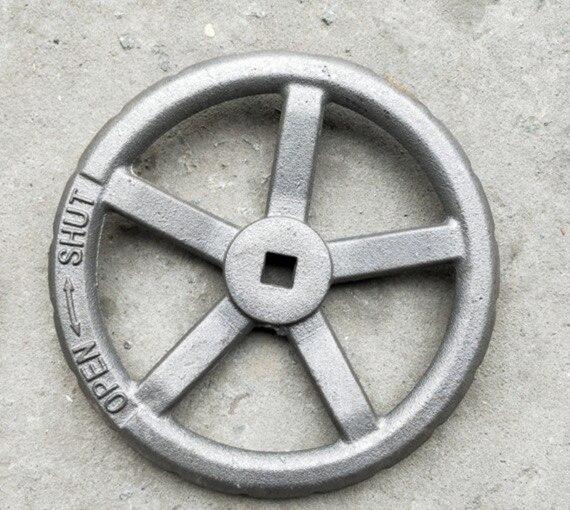 2Pieces Diameter:120mm. Hole:11x11mm. Valve GB Handwheel Stop Valve Handwheel Handle Switch Turntable